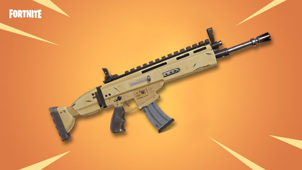 SCAR Assault Rifle - Fortnite Weapons